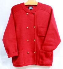 Veste gilet en laine rouge Ship Way 1980 t. 42