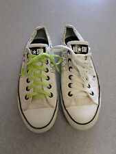 "Converse All Star ""Long Neck Crowd"" white graphic sneakers Women's 10 (Men's 8)"