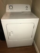 Amana Washer & Dryer/ White/Used