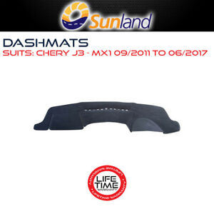 Sunland Dashmat Fits Chery J3 MX1 09/2011 - 2017 For All Models Mat Covers