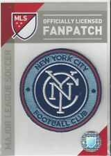 """New York City FC MLS Soccer Patch 3"""" Round Sew On Iron On Official Futball"""