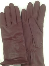 Women's CHARTER CLUB by MACYS LEATHER-CASHMERE-WOOL -M- Gloves - $75 MSRP - 20%