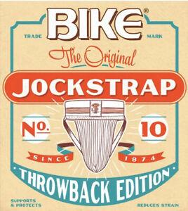 Bike No. 10 Throwback Edition Jockstrap Athletic Supporter Large