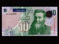 Northern Ireland:P-212,10 Pounds,2013 * Danske Bank * John Boyd Dunlop * UNC *