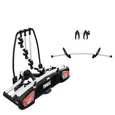 Thule VeloSpace XT 3 939021 Towbar Mounted 4 Cycle Carrier + Bike Adapter 938100