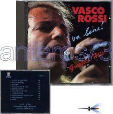 """VASCO ROSSI """"VA BENE!"""" RARO CD STAMPA SVIZZERA 1991"""