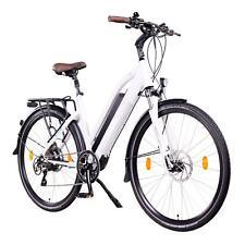 "NCM Milano Plus 28"" Trekking E-Bike, 250W 48V 13Ah 624Wh Battery, white"