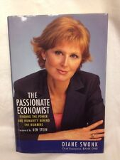 New listing Signed The Passionate Economist- Diane Swonk - Autographed Book - Hard Cover