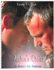 "Stargate Fanzine ""Ancient's Gate 4: Author's Choice"" SLASH"