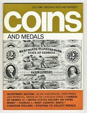COINS & MEDALS - 68 Page Magazine July 1968 Good Reference