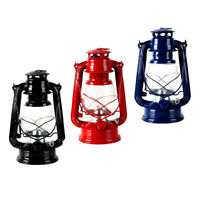 Set of 3, Industrial Style Kerosene Lantern Hiking Oil Lamp Decor Gift