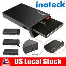 Inateck 2.5 Inch USB3.0 Hard Drive Disk Enclosure/Case for SATA I/II/III/HDD/SSD