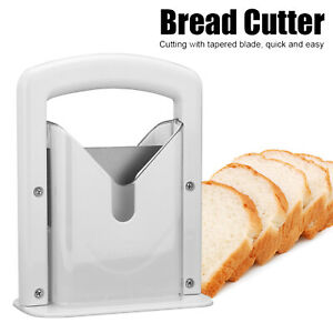 Bread Slicer Cutter Toast Loaf Sandwich Cutting Slicing Maker Guide Kitchen