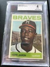 Hank Aaron 1964 Topps #300 BVG 4 VG-EX Milwaukee Brewers  GCJ