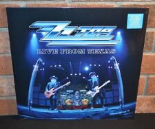 * ZZ TOP - Live From Texas, Limited 2LP 180G SILVER VINYL Gatefold New! Bend!
