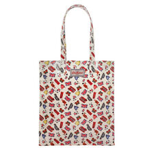CATH KIDSTON TAN LONDON STAMPS BOOK BAG+MATCHING MULTI ZIP PURSE-NEW+TAG+GIFTS