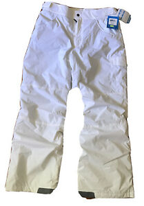 NEW Columbia Vertex Snow Patch Ski Snowboard Pants Grey Youth Boys or Girls $70