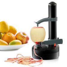 Black Automatic Kitchen Machine Fruit Apple Potato Peeler Corer Cutter Slicer US