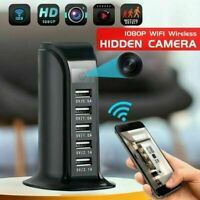 1080P Ultra HD 4K WIFI USB Socket Charger Hidden Camera Security Video Recorder