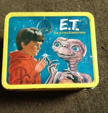 INTAGE 1982 E.T. THE EXTRA-TERRESTRIAL METAL LUNCH BOX