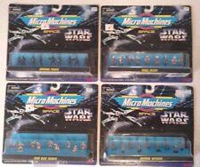 LOT 4 Imperial Pilot Rebel Echo Base Troop Oficer Star Wars Micro Machine Figure