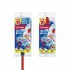 VILEDA Supermocio XL 3 AZIONE Mocio con Extra Ricarica Proroga maniglia