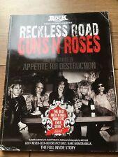 CLASSIC ROCK RECKLESS ROAD GUNS ROSES MAGAZINE