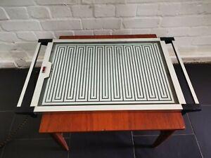 Stylish Vintage Mid Century Early 60's Chrome Heat Tray