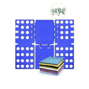 NWT Shirt Folding Board, All Kinds Of Clothing Folding Board, Flip Fold, Blue