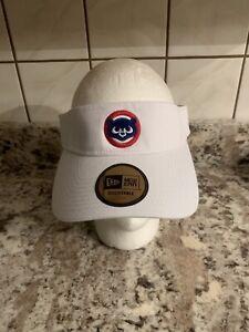 Chicago Cubs NEW ERA Adj. Visor - OSFM