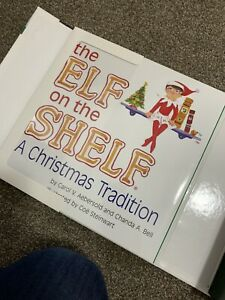 Elf on The Shelf Plastic Christmas Decoration - Red Girl