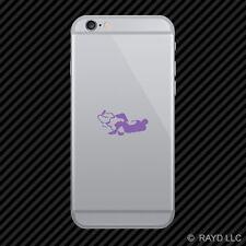 (2x) BJJ Cell Phone Sticker Mobile brazilian jiu jitsu armbar submission colors