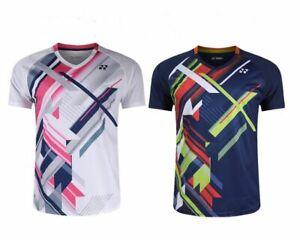 New men's sports Tops tennis/badminton Clothes Quick-drying T shirts