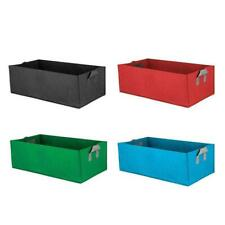 Plant Bed Garden Flower Planter Elevated Vegetable Planting Box Grow Bags E3E3