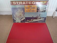 VINTAGE 1974 STRATEGY  THE NAVY GAME BY ARIEL GAMES / COMPLETE