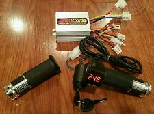 Scooter E Bike 24 volt Throttle and Controller Universal Kit