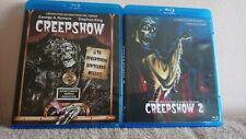 ULTIMO!!! Pack 2 Blu-ray Stephen King:Creepshow + Creepshow 2