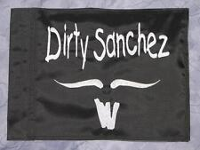 Custom Dirty Sanchez Flag 4 ATV UTV dirtbike Jeep Dune Whip Pole