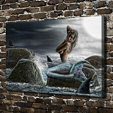 The little mermaid Paintings HD Print on Canvas Home Decor Wall Art Picture