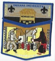 Boy Scout OA 243 Mowogo Lodge 2009 NOAC Blue Border Set