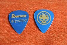 Mediator Guitare Guitar PICK THE OFFSPRING Ibanez Blue