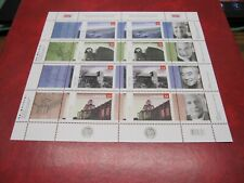 CANADA Unitrade#2215-2218 52c ROYAL ARCHITECTURAL INST. PANE 8 + 8 LABELS MNH