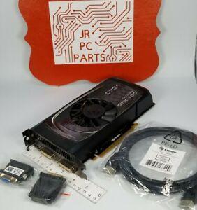 Evga GeForce GTX 460 1GB GDDR5 Dual DVI VGA Mini HDMI Windows 10 Video Card