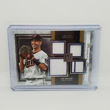 2020 Topps Museum Collection Joe Mauer Quad Jersey  #ed 13/99 Twins