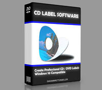CD DVD Label Maker Creator Software - Professional Design & Print