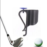 1pc Golf Bag Clip On Putter Clamp Holder Putting Organizer Club Ball MarkerEB