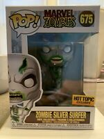 FUNKO POP! MARVEL ZOMBIES ZOMBIE SILVER SURFER #675 HOT TOPIC EXCLUSIVE MIB