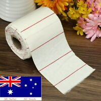 2X Cleaning 10 Yard Cloth Roll Cotton Patch Firearm Clean Bulk Wipe Barrel 4x2''