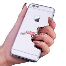 Coque iphone 6 et 6S miroir silver chrome Luxe cristal ESS TECH etui effet miroi