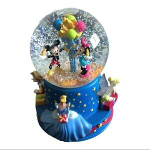 Disney Musical Birthday Water Globe 100th  Limited Edition